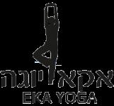 אקא-יוגה לוגו רקע שקוף
